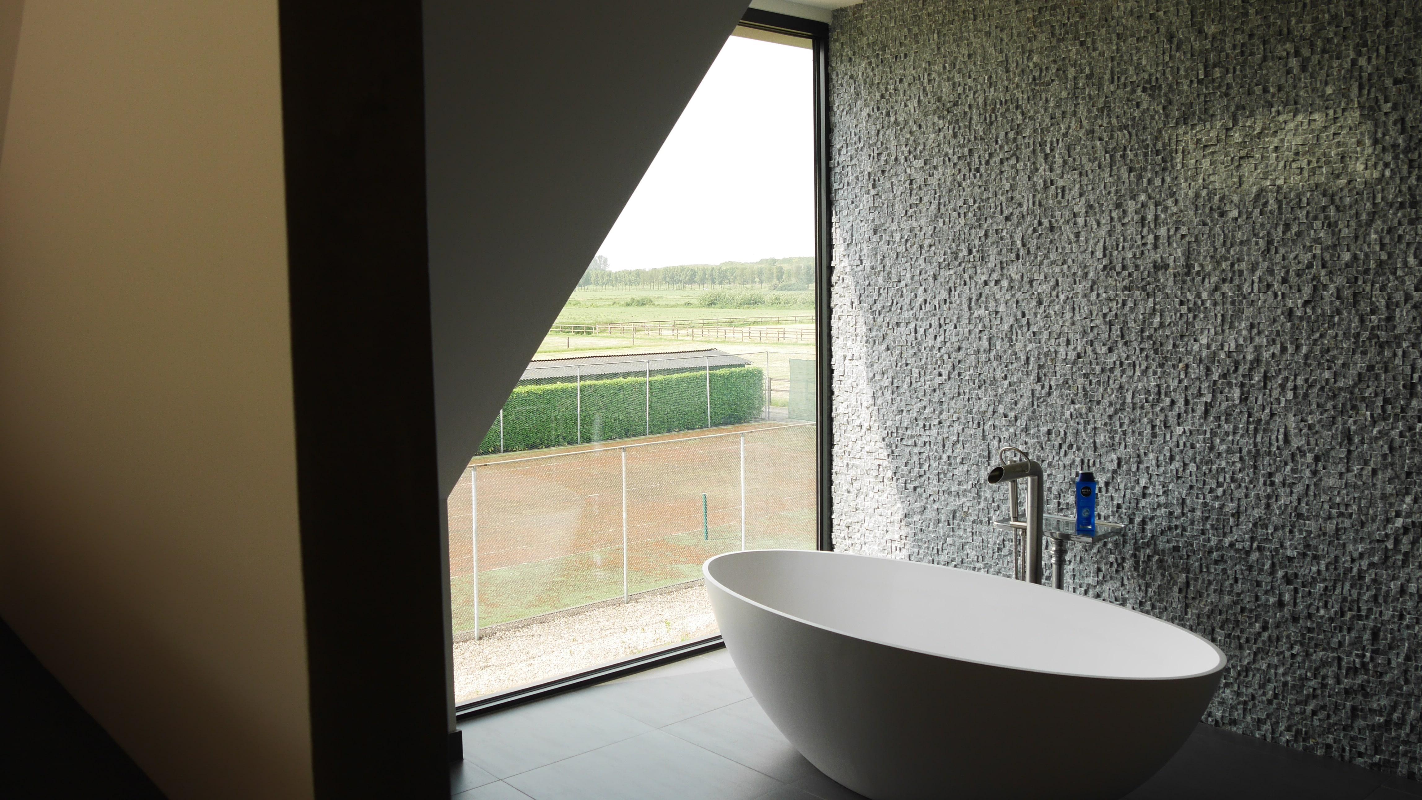 aluminium kozijn badkamer