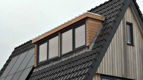 dakkapel hout modern